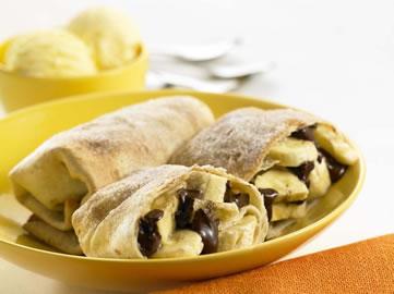 Grilled Tortilla Dessert Wraps