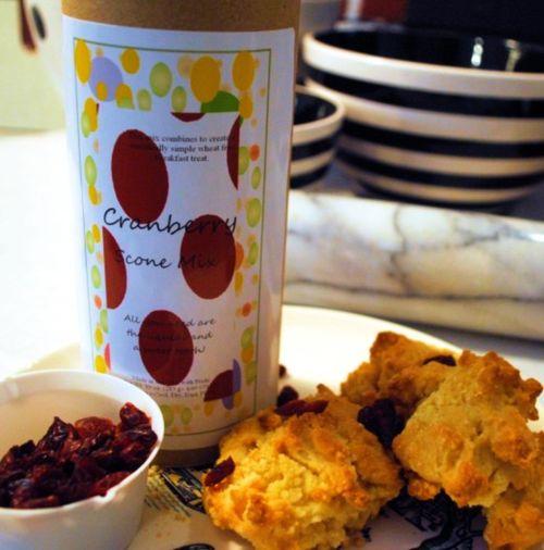 gluten free cranberry scone mix