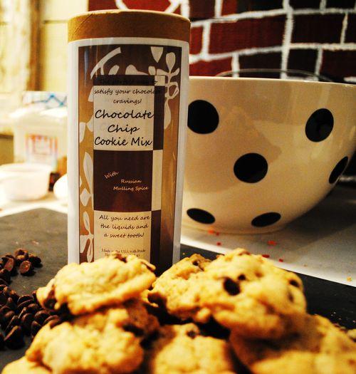 gluten free chocolate chip cookie mix