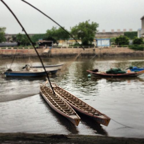 The boats of Jimei