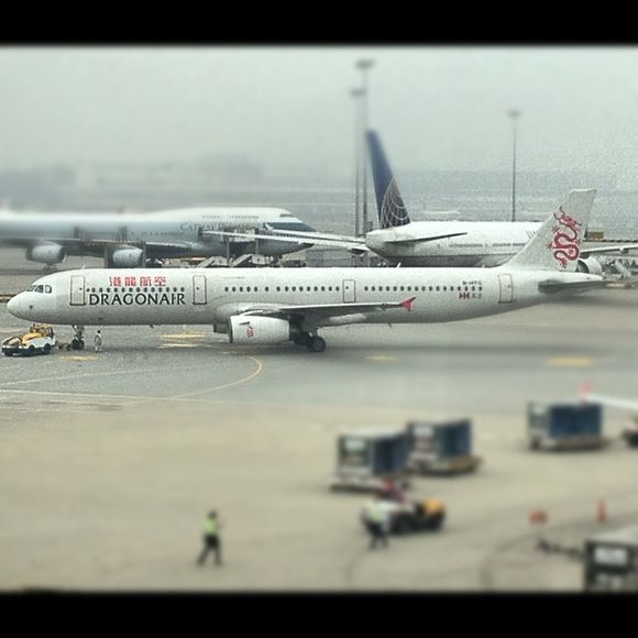 The flight to mainland China