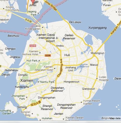Xiamen_and_jimei Map