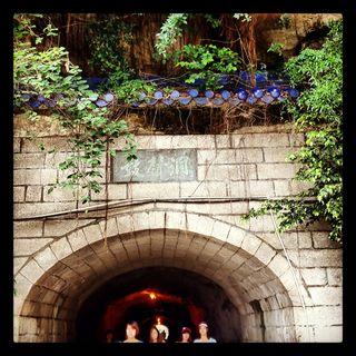 Gulangyu - a pedestrian tunnel