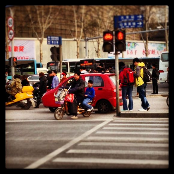 How people get around in Jinan