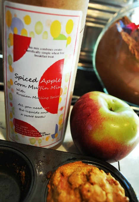 Spiced apple Corn Muffin mix