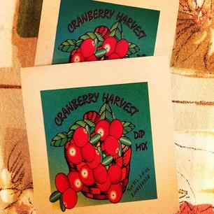 Cranberry Harvest Dip