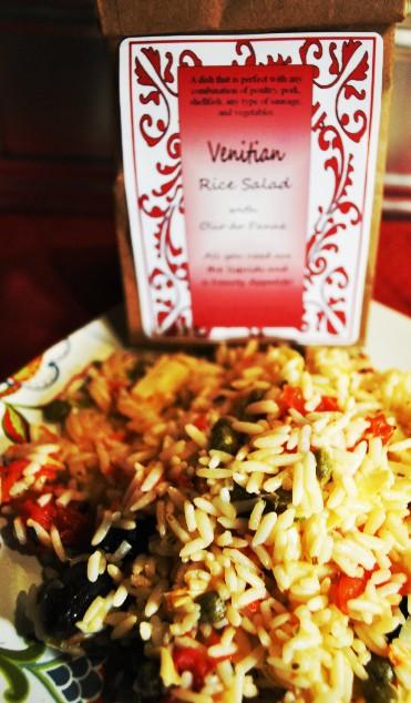 Venitian rice salad