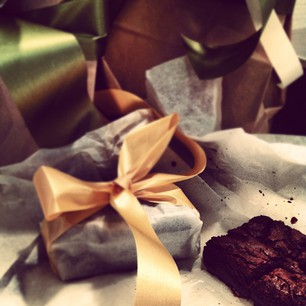 Best-Ever Brownies, all wrapped up