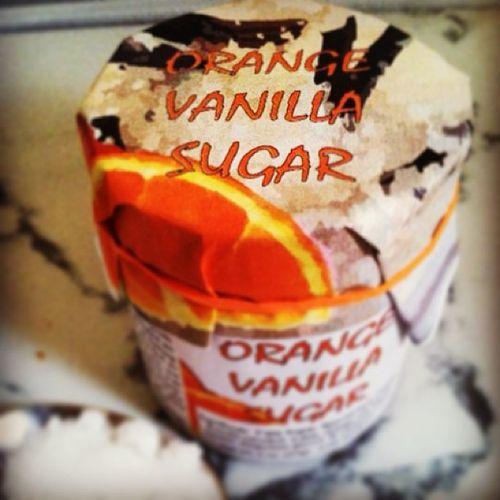 Orange Vanilla Sugar