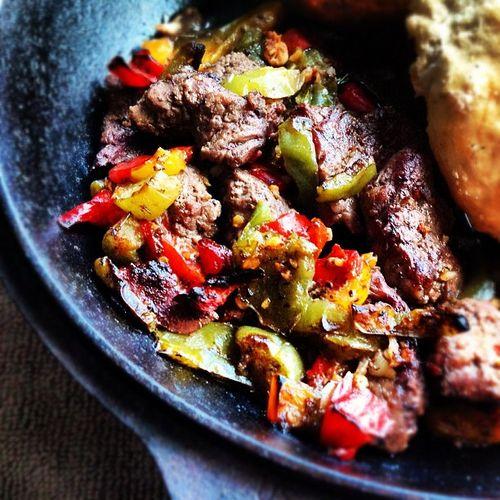 Gluten Free Steak Fajitas