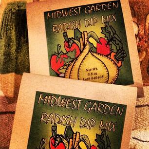 Midwest Garden Radish Dip