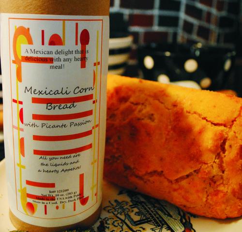 Mexicali cornbread