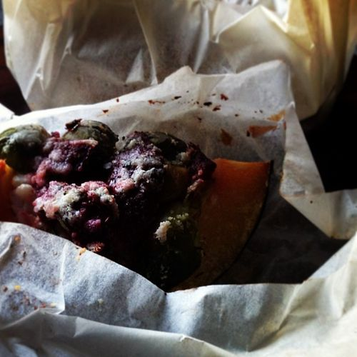 FFWD; Acorn squash and brussels sprouts en papillote