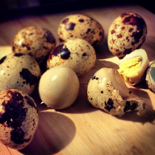 Jinan style tea eggs