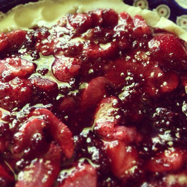 Breton Galette Recipe: Ffwd: Sable Breton Galette With Berries, Wheat Free (Terra