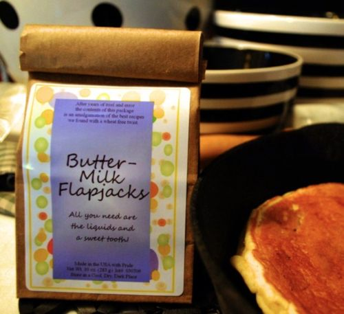 Buttermilk flajack gluten free mix