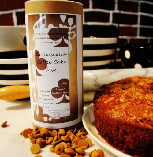 Old Favorites For Baking: Butterscotch Coffee Cake