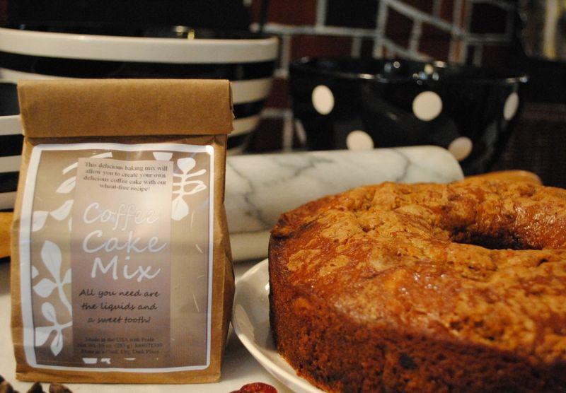 Basic coffee cake