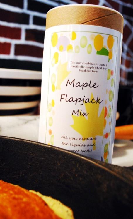 Maple flapjacks
