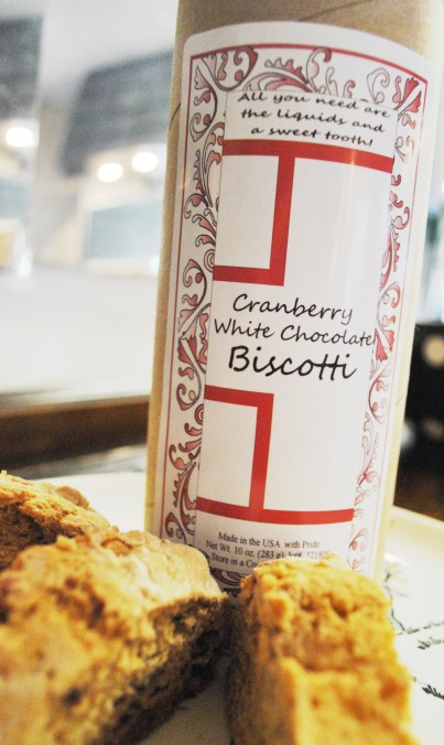 Old Favorites For Baking: Cranberry White Chocolate Biscotti