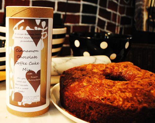 Old Favorites For Baking: Cinnamon Chocolate Coffee Cake