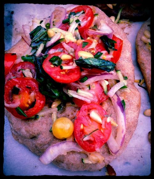 TWD: Grilled Eastern Mediterranean Pizzas