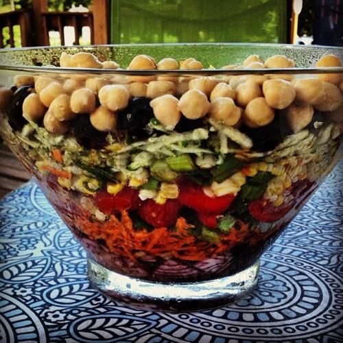 Marinated Layer Salad