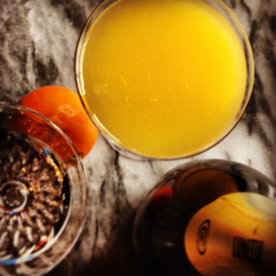 Mimosa, a vital ingredient for celebrating any day like New Years day!