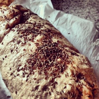 Easy Potato Chive Bread