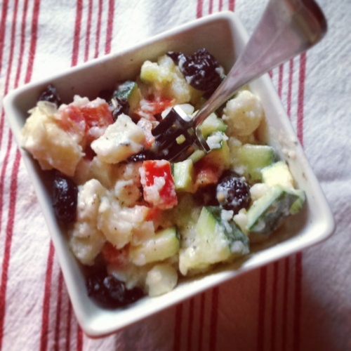 Italian Potato Salad from Prince Edward Island