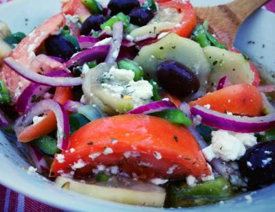 Rustic Italian Bread Salad