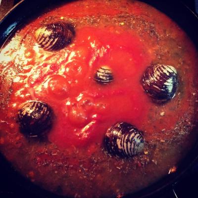 Cioppinno, easy Italian seafood stew